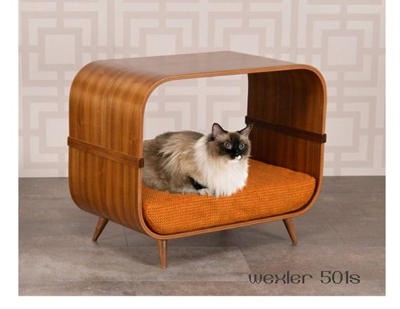 wexler 501s mid century modern cat bed. Black Bedroom Furniture Sets. Home Design Ideas