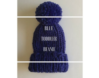 Chunky Knit Toddler Beanie