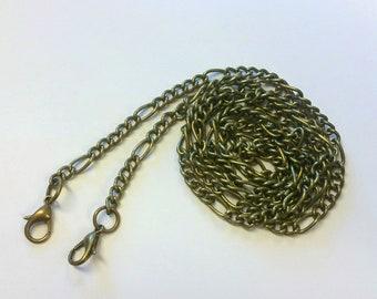 "Purse Chains 116cm/45.5"" Antique Brass"