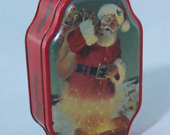 Christmas - Santa Clause - Tin - Tom Browning Artist - MG-284