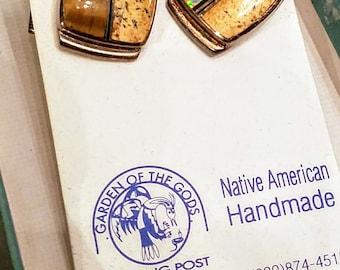 Vintage Native American Handmade Cufflinks