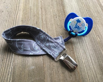 It's Bear-y Nice to Meet You Paci Clip