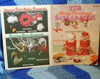 The Merry Christmas Bazaar Book