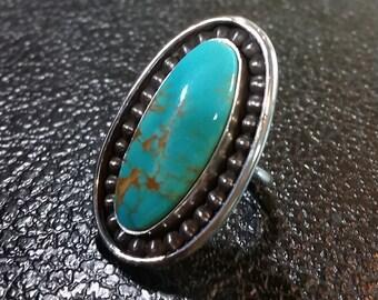 Manassa Colorado Turquoise Ring - Size Size 8.5