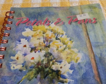Cookbook, Petals & Pans, Recipes from the RI Federation of Garden Clubs