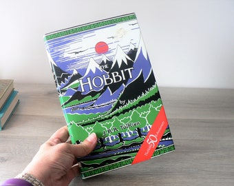 Vintage The Hobbit 50 th Anniversary Edition Book - 1987