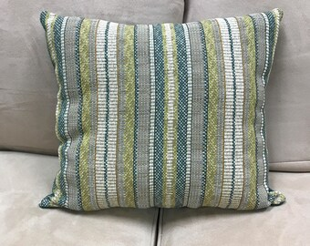Handmade Striped Pillow