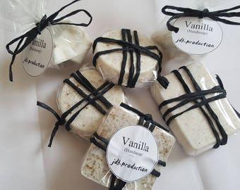 Vanilla Soap, handmade, mildly scented