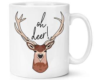 Oh Deer 10oz Mug Cup