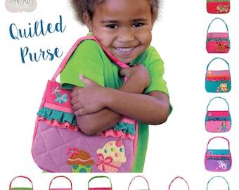 Toddler purse, Little Girl's Purse, Purse, Little Girl Gift, Stephen Joseph Purse, Cute Girls Purse, Girls Birthday Gift, Girls Purse