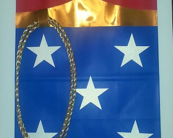 Wonder Woman gift bag
