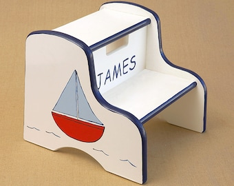 sailboat step stool