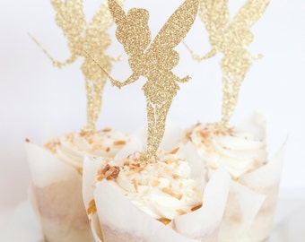 Fairy Party Cupcake Toppers, set of 18
