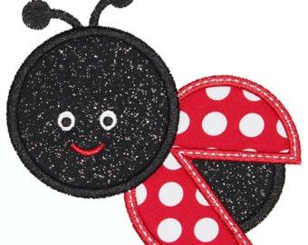 Ladybug Applique Embroidery