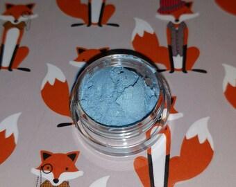 Rainbow Dash Inspired - sky blue with holo micro glitter mineral eyeshadow 5 gram VEGAN