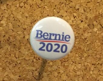 """Bernie Sanders 2020 Presidential 1""""  pin/magnet"""
