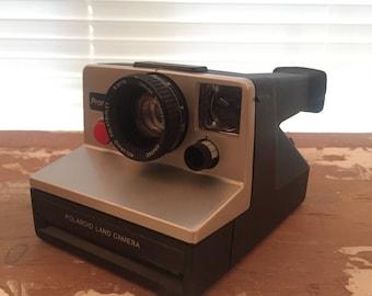 TESTED Polaroid SX-70 Pronto! B Silver / Grey Land camera model color corrected instant film