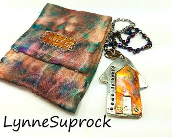 Published Rainbow House, Heart, With Pouch