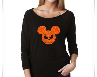 halloween sweatshirt jack skellington halloween night disney halloween shirt disney halloween cruise