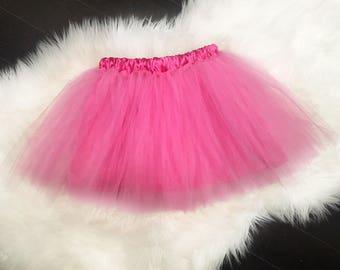 Baby Girl pink Tutu, Smash Cake Tutu, Infant Tutu, First Birthday, Tutu Skirt, Birthday Outfit, Toddler Tutu, pink tutu