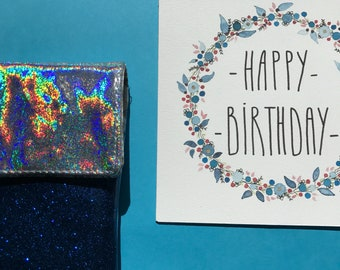 Happy Bithday blue by Ruliet card