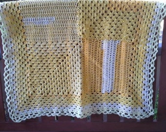 Daffodils Baby Blanket