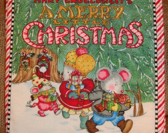 children book cloth Christmas handmade