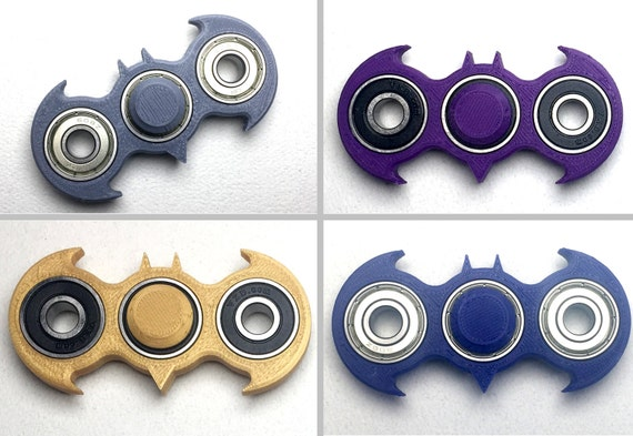 Batman Fid Spinner 3D printed toy