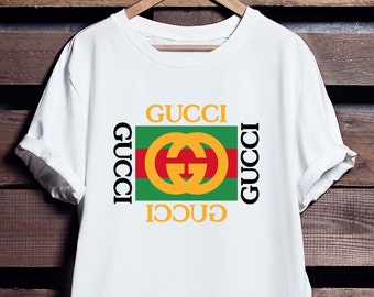 297390158 Gucci Shirt - Gucci T Shirt - Gucci Men and Women - Gucci Vintage - Gucci  Inspired - Gucci Gang- Short-Sleeve Unisex T-Shirt