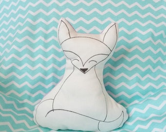 MiniCoccola a forma di Volpe-Stuffed fox animals-cotton fox toy-Baby gift box-gift for baby girl or baby boy-fox plush