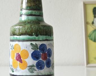 Vintage vase, flower decor, made by VEB Haldensleben, Germany. Mid Century