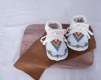 Baby / Toddler Beaded Moccasins