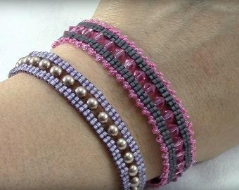 Fancy Lace Bracelet PDF (Instant download)