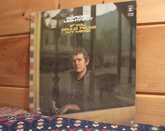 Gordon Lightfoot - If You Could Read My Mind - 33 1/3 Vinyl Record