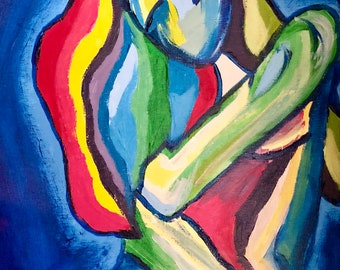 Original Art | Acrylic Painting on Canvas | Velvet Nights