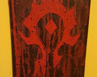 World of Warcraft Horde Painting