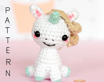 Crochet pattern, Amigurumi unicorn pattern, Unicorn plush pattern, Unicorn stuffed animal pattern, Crochet unicorn pattern Amigurumi pattern