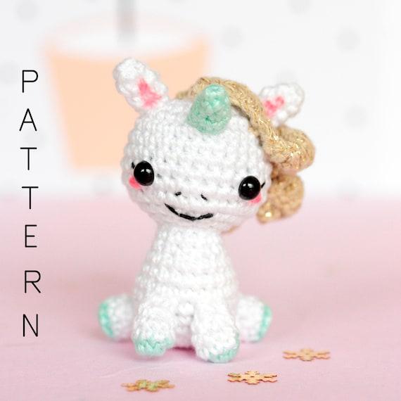Crochet Pattern Amigurumi Unicorn Pattern Unicorn Plush Pattern