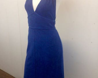 Vintage Terry Cloth Dress
