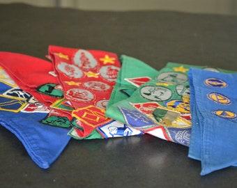 Vintage Merit Badge Sashes