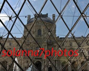 A little bit of Paris 3, Paris Photography, Musee du Louvre, Paris, France,Wall Hanging Art