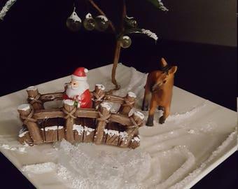 Even horses love Santa!