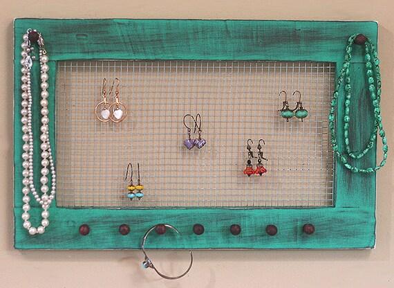 Jewelry Holder Earring Organizer Jewelry Frame Jewelry Holder