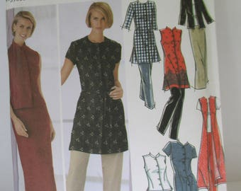 Vintage dress Paper Pattern uncut used Size 8-10-12-14,USA  Simplicity 5589