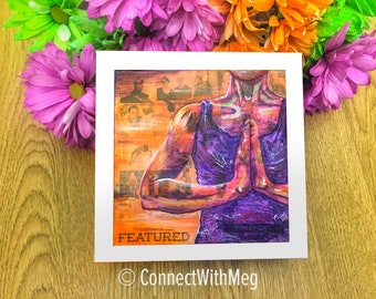 Yogafort 2017 Print (8 x 8) Connect With Yoga Series