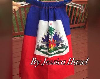 Baby Haitian flag dress