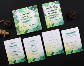 Sample Pack | Havana Collection Wedding Stationery Invitation