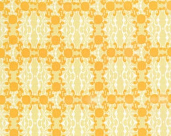 Free Spirit Fabric, Morning Tides by Mark Cesarik for Free Spirit Fabrics, MC16 Water in Yellow