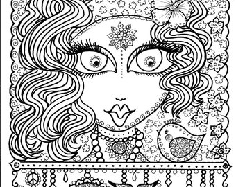 Instant Download OM Art for you to COLOR