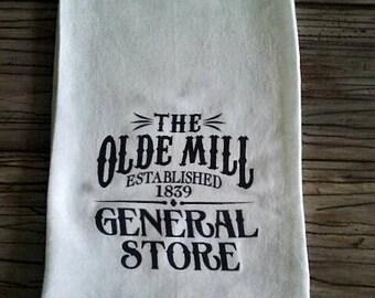 Flour Sack Towel, Farmhouse